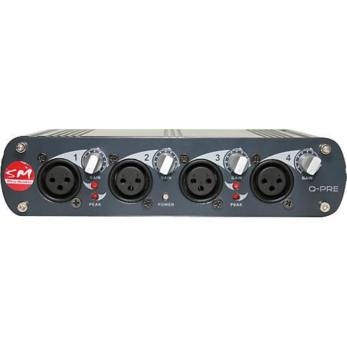 SM Pro Audio Q-Pre 4-Channel Microphone Preamp