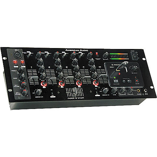 American Audio Q Record 4-Channel DJ USB Mixer