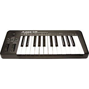 Alesis Q25 25 Key Keyboard Midi Controller Guitar Center