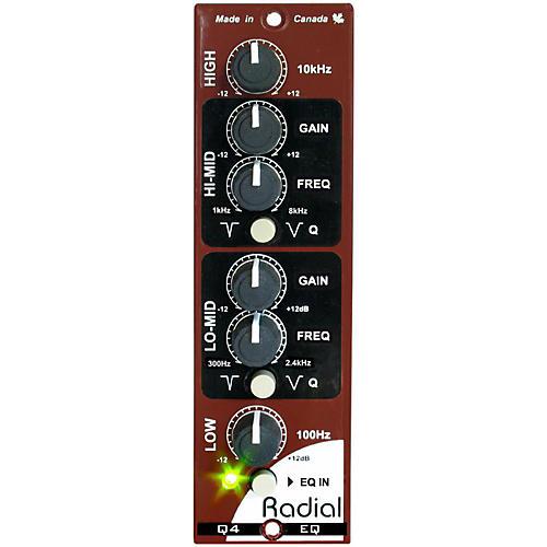Radial Engineering Q4 Four Band Semi-Parametric EQ-thumbnail