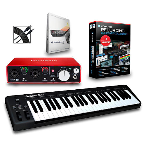 Alesis Q49 49-Key MIDI Keyboard Controller Packages-thumbnail
