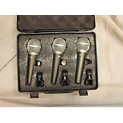 Samson Q6 3-Pack Dynamic Microphone