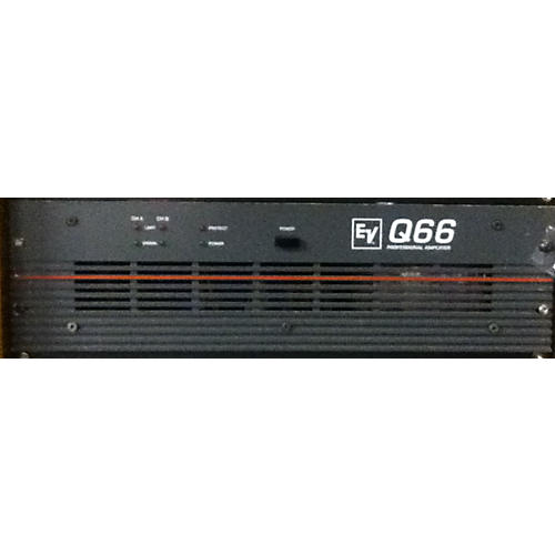 used electro voice q66 power amp guitar center. Black Bedroom Furniture Sets. Home Design Ideas