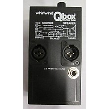 Whirlwind QBOX MIC/LINE TESTER Signal Processor