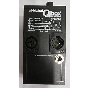 Pre-owned Whirlwind QBOX MIC/LINE TESTER Signal Processor by Whirlwind