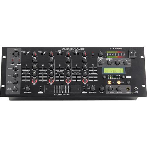 American Audio QFX-Pro Rackmount DJ mixer-thumbnail