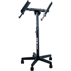 Quik-Lok QL-400 Fully Adjustable Mixer Stand with Casters by Quik Lok