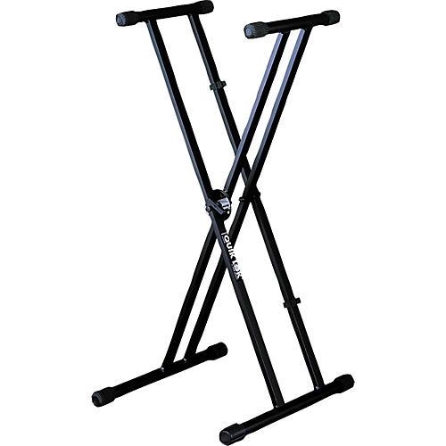 Quik-Lok QLX-21 Double Braced Single Tier Keyboard Stand