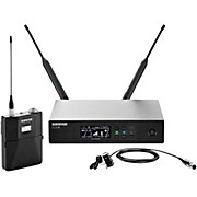 Shure QLX-D Digital Wireless System with WL184 Supercardioid Lavalier