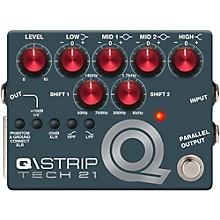 Tech 21 Q\Strip Dual Parametric EQ Instrument DI Pedal