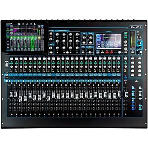 Allen and Heath QU-24 Chrome Edition Digital Mixer by Allen & Heath