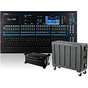 QU-32 Digital Mixer with AB168 Digital Stage Box and Case