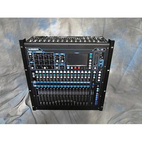 used allen heath qu16 digital mixer guitar center. Black Bedroom Furniture Sets. Home Design Ideas