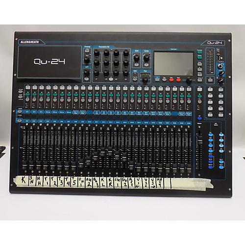 used allen heath qu24 digital mixer guitar center. Black Bedroom Furniture Sets. Home Design Ideas