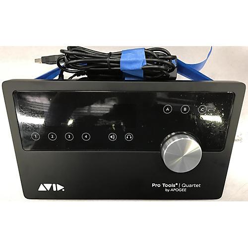 used avid quartet audio interface guitar center. Black Bedroom Furniture Sets. Home Design Ideas
