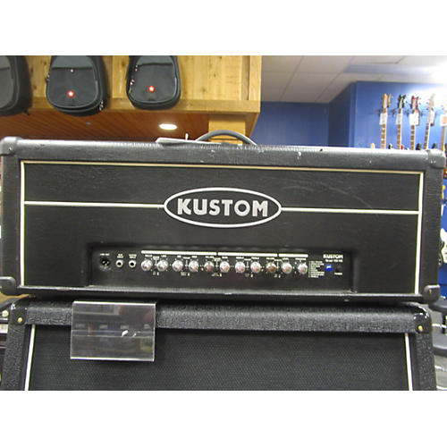used kustom quad 100hd solid state guitar amp head guitar center. Black Bedroom Furniture Sets. Home Design Ideas