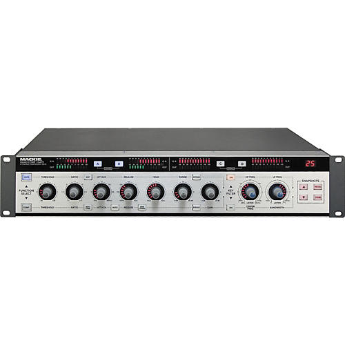 Mackie Quad Comp/Gate 4-Channel Digital Compressor/Gate