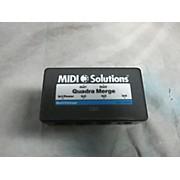 MIDI Solutions Quadra Merge MIDI Utility