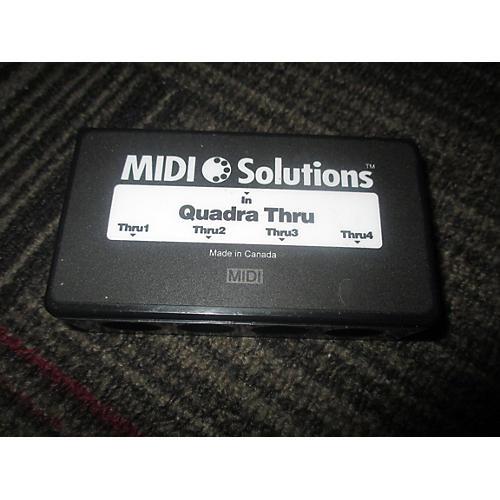 MIDI Solutions Quadra Thru MIDI Utility