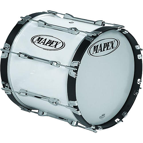 Mapex Qualifier Bass Drum Snow White 18 x 14 in.