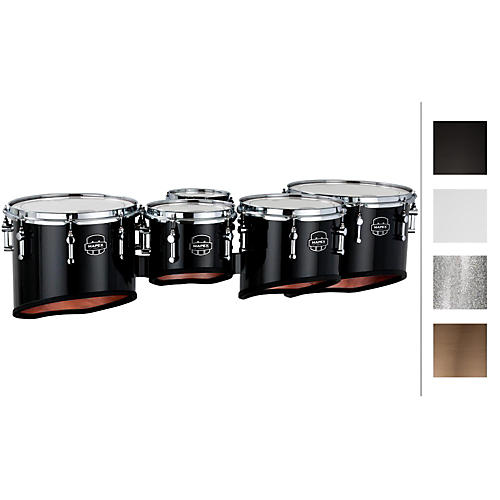 Mapex Quantum Marching Tenor Drums Sextet 6, 8, 10, 12, 13, 14 in.-thumbnail