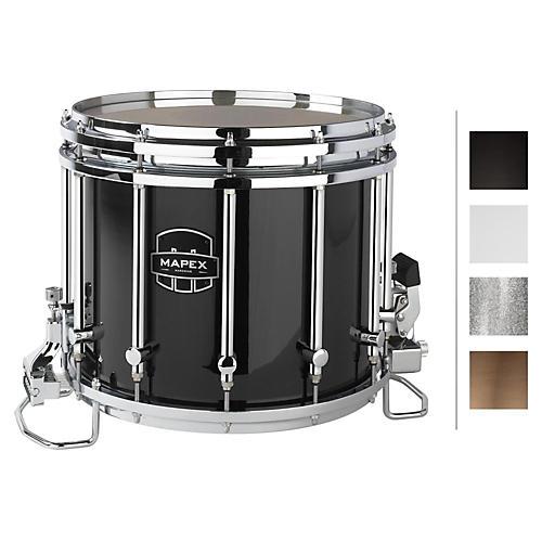 Mapex Quantum XT Snare Drum 14 x 12 in. Gloss Black/Gloss Chrome Hardware