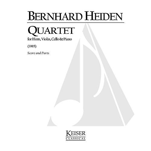 Lauren Keiser Music Publishing Quartet LKM Music Series Composed by Bernhard Heiden