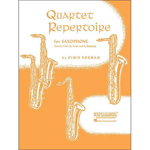 Hal Leonard Quartet Repertoire for Saxophone E Flat Baritone