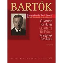 Editio Musica Budapest Quartets for Flutes EMB Series Softcover Composed by Béla Bartók