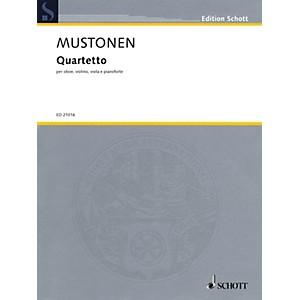 Schott Quartetto Oboe, Violin, Viola, and Piano String Series Book by Oll...