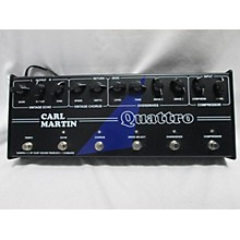 Carl Martin Quattro Analog Effect Processor