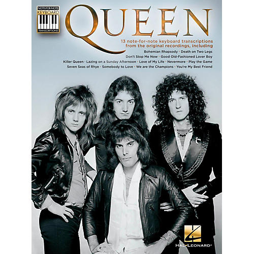Hal Leonard Queen Note-For-Note Keyboard Transcriptions-thumbnail