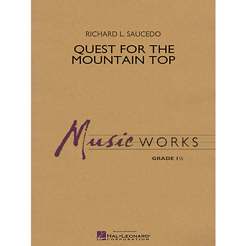 Hal Leonard Quest For The Mountain Top - Music Works Series Grade 1.5-thumbnail