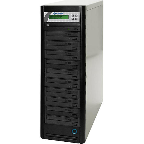Microboards Quic Disc DVD H1210 Economy 1:10 CD/DVD Duplicator with Hard Drive