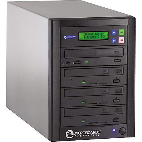 Microboards QuicDisc QD-123 One to Three 52X CD Duplicator