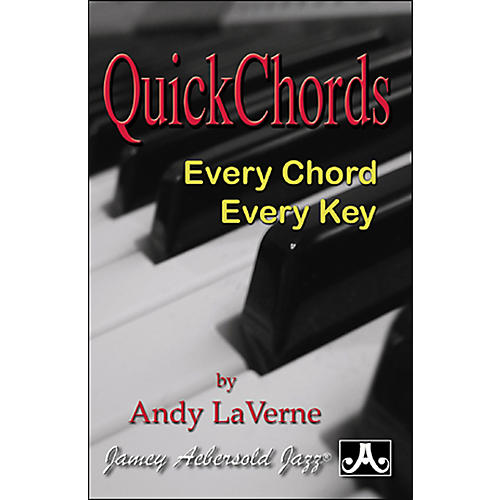 Jamey Aebersold Quick Chords (Book)-thumbnail