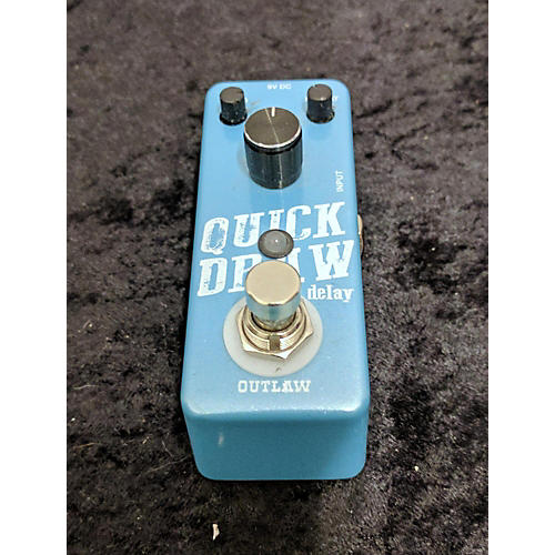 Outlaw Effects Quick Draw Effect Pedal-thumbnail