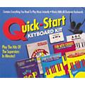 Hal Leonard Quick-Start Keyboard Kit Includes Cassette (Book and Cassette Package)  Thumbnail