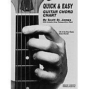 Creative Concepts Quick and Easy Guitar Chord Chart Book