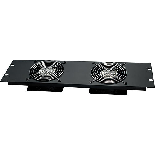 Raxxess Quiet Dual Fan Rack Panel
