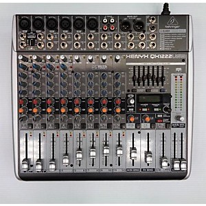 Pre-owned Behringer Qx1222usb Powered Mixer by Behringer