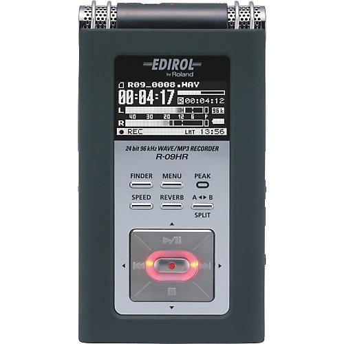 Edirol R-09HR 24-bit/96KHz WAV/MP3 Recorder