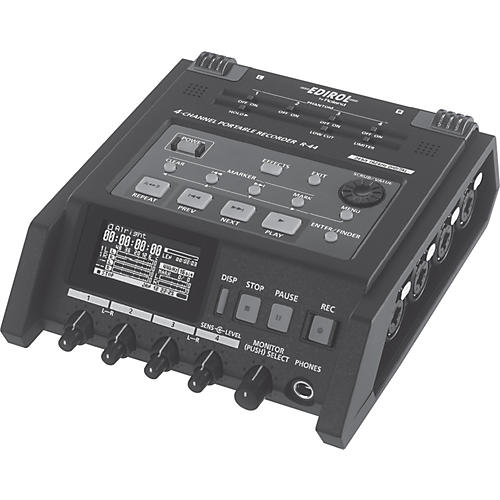 Roland R-44 4-Channel Solid State Field Recorder-thumbnail