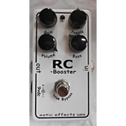 Xotic R C BOOSTER Effect Pedal