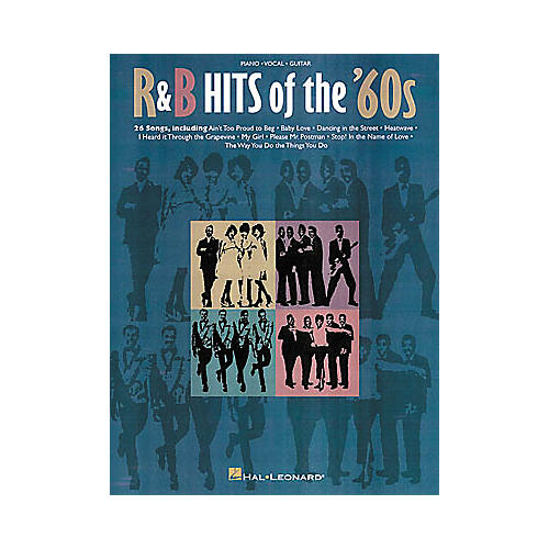Hal Leonard R and B Hits Of The '60s Piano/Vocal/Guitar Songbook-thumbnail