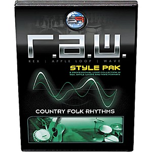 Sonic Reality R.A.W. Style Pack - Country Folk Rhythms Loops Collection Sof...