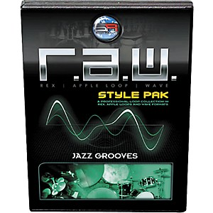 Sonic Reality R.A.W. Style Pack - Jazz Grooves Loops Collection Software by Sonic Reality
