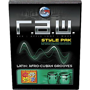 Sonic Reality R.A.W. Style Pack - Latin: Afro-Cuban Grooves Loops Collectio...