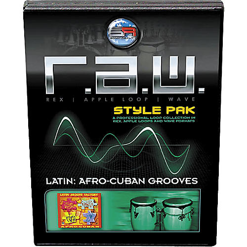Sonic Reality R.A.W. Style Pack - Latin: Afro-Cuban Grooves Loops Collection Software-thumbnail