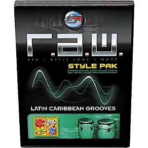 Sonic Reality R.A.W. Style Pack - Latin: Caribbean Grooves Loops Collection...